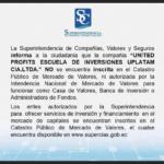 LA SUPERINTENDENCIA DE COMPAÑIAS INFORMA