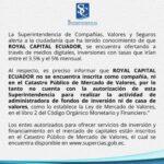 ALERTA SUPERINTENDECIA DE COMPAÑIAS